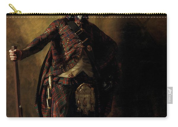 Colonel Alastair Ranaldson Macdonell Of Glengarry, 1812 Carry-all Pouch