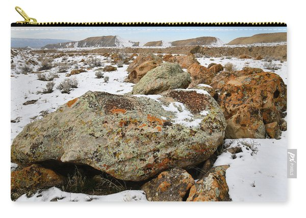 Color In The Book Cliff Desert Carry-all Pouch
