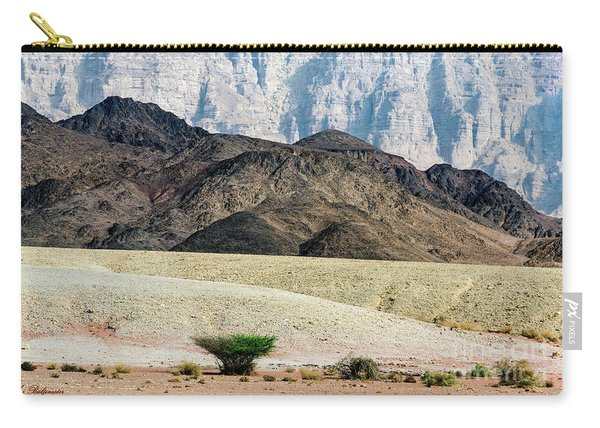 Color Layers In The Desert Carry-all Pouch