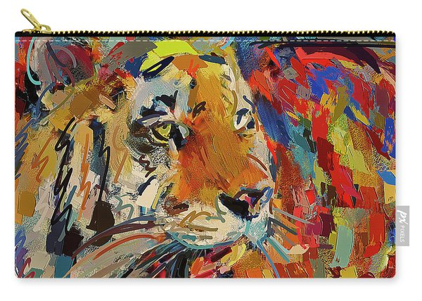 Color Tiger Carry-all Pouch