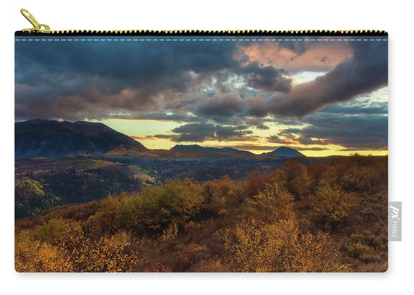 Carry-all Pouch featuring the photograph Colorado Cloudscape by John De Bord