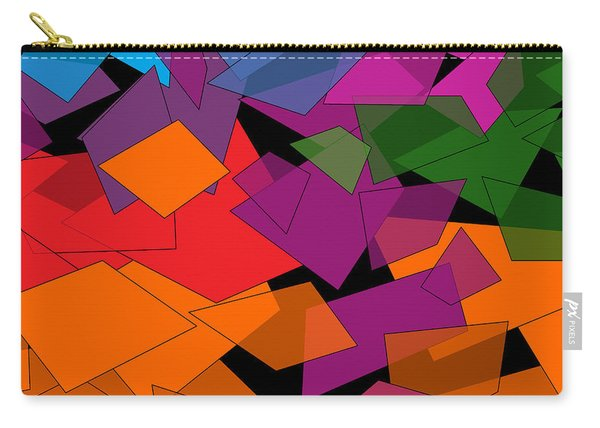 Colorful Chaos Carry-all Pouch