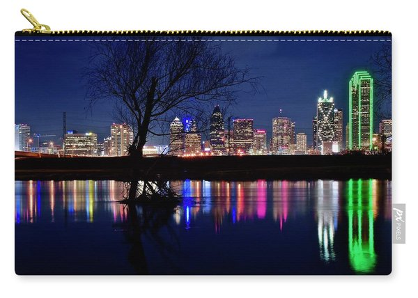 Colorful Dallas  Carry-all Pouch