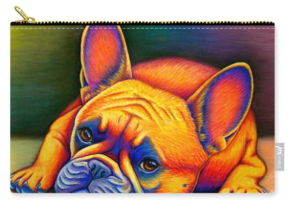 Daydreamer - Colorful French Bulldog Carry-all Pouch