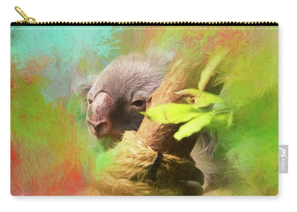 Colorful Koala Carry-all Pouch