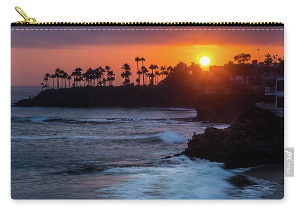 Colorful Laguna Beach Sunset Carry-all Pouch