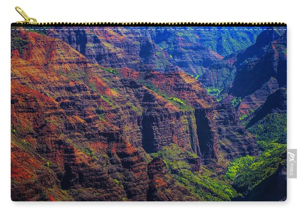 Colorful Mountains Of Kauai Carry-all Pouch