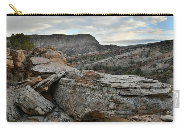 Colorful Overhang In Colorado National Monument Carry-all Pouch