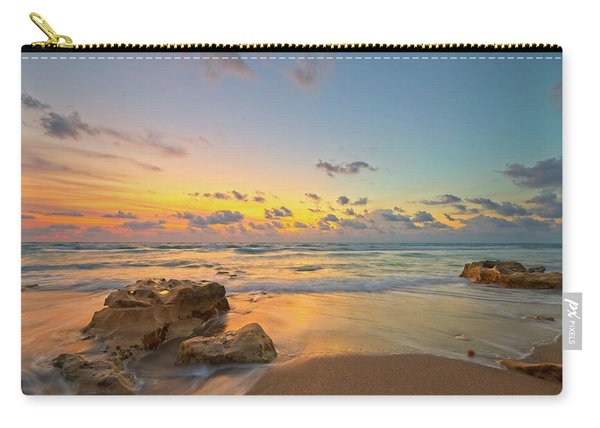 Colorful Seascape Carry-all Pouch