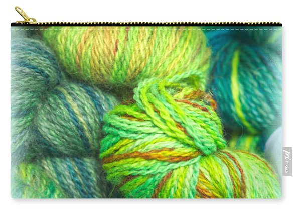 Colorful Skeins Of Yarn Carry-all Pouch