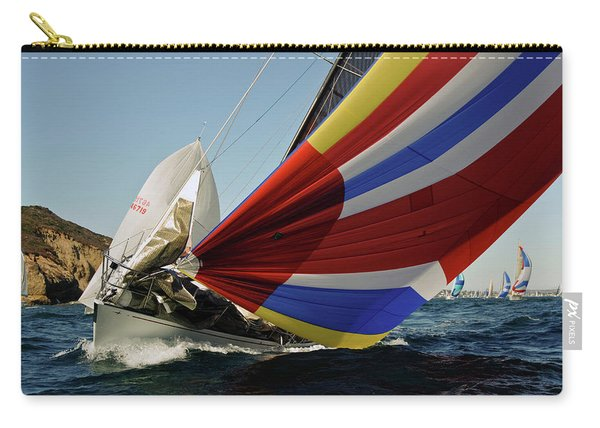 Colorful Spinnaker Run Carry-all Pouch