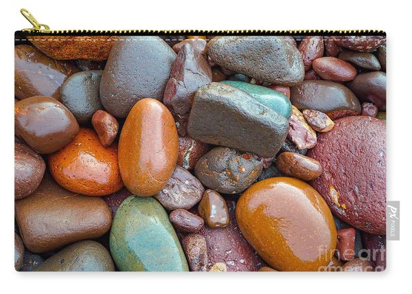 Colorful Wet Stones Carry-all Pouch