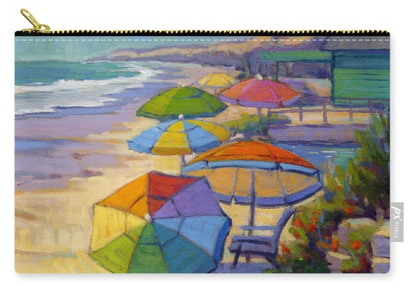 Colors Of Crystal Cove Carry-all Pouch