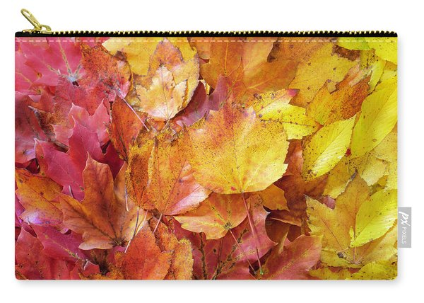 Colors Of Fall - Red To Yellow Carry-all Pouch