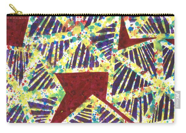 Colourful Webs  Carry-all Pouch