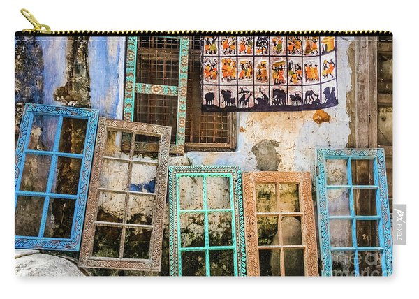 Colorful Window Frames Carry-all Pouch