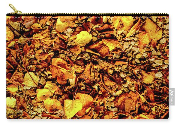 Colours. Autumn Gold Carry-all Pouch