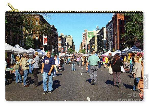Columbus Day On Amsterdam Ave. Upper West Side, New York 2008 Carry-all Pouch