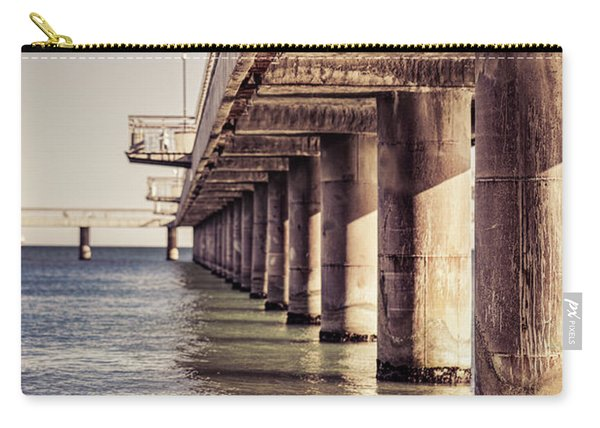 Columns Of Pier In Burgas Carry-all Pouch