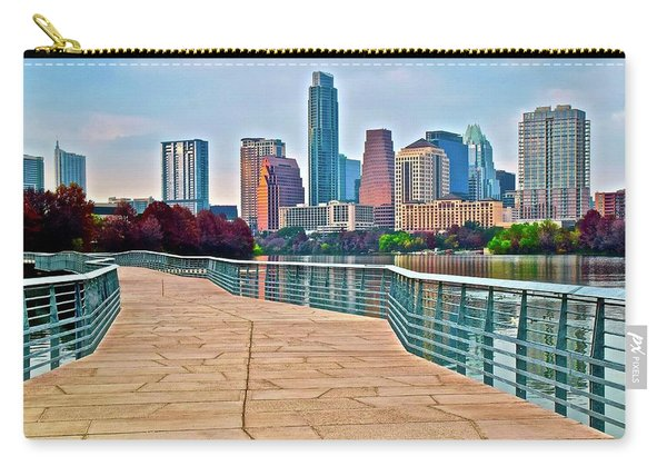 Come To Austin Texas Carry-all Pouch