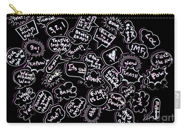Comic Conversations Carry-all Pouch