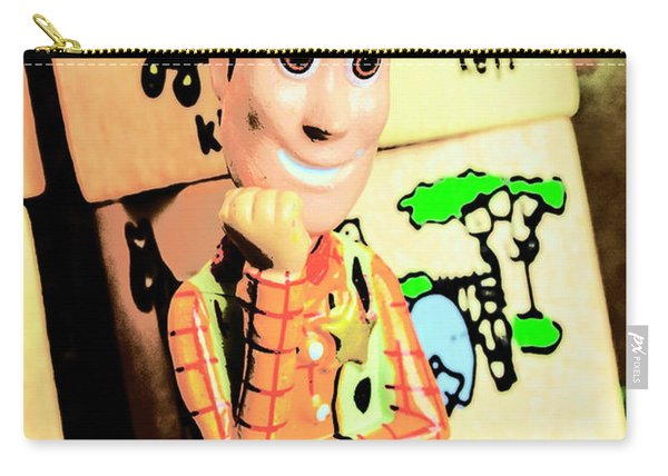 Comic Cowboy Carry-all Pouch