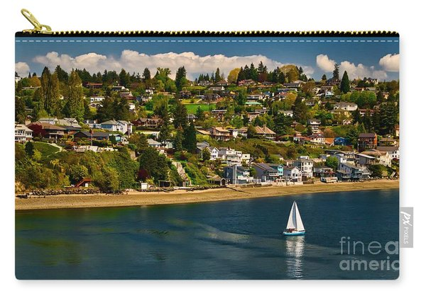 Commencement Bay,washington State Carry-all Pouch