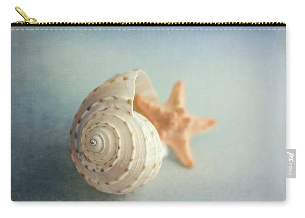 Conch Shell And Starfish Carry-all Pouch