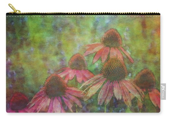 Coneflowers Among The Lavender 1667 Idp_2 Carry-all Pouch