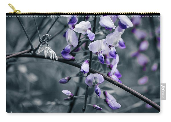 Cool Blue Of Spring Carry-all Pouch