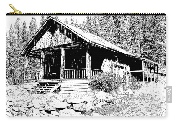 Coolidge Ghost Town Montana Carry-all Pouch