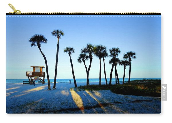 Coquina Palms Carry-all Pouch