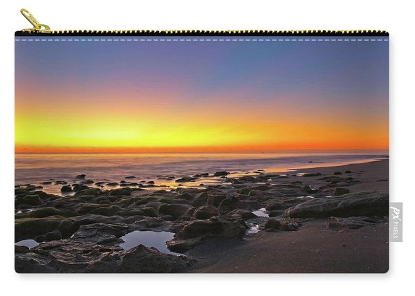 Coral Cove Nautical Twilight Carry-all Pouch