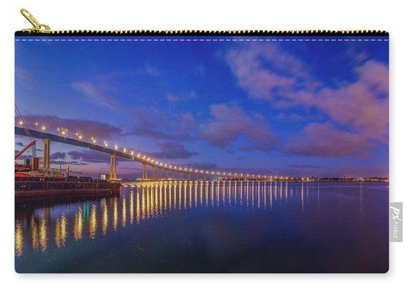 Coronado Bridge Sunrise - Panorama Carry-all Pouch