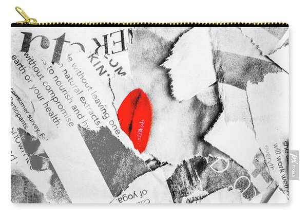 Cosmetic Collage Carry-all Pouch