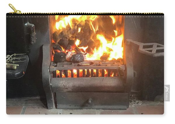 Cosy Winter Fire Carry-all Pouch