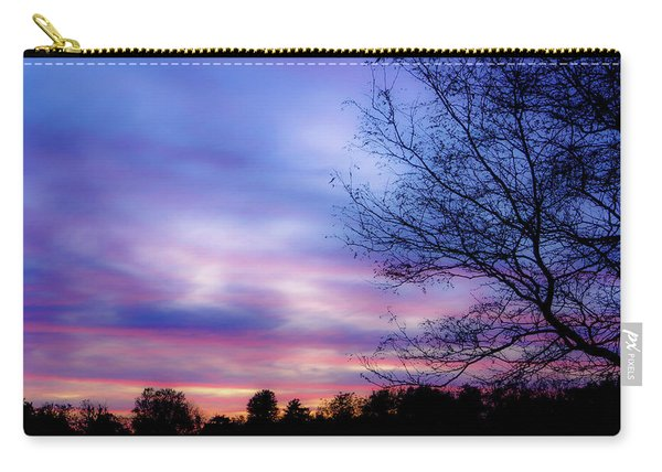 Cotton Candy Sunset In October Carry-all Pouch