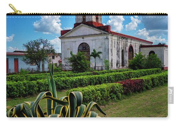 Carry-all Pouch featuring the photograph Country Church by Tom Singleton