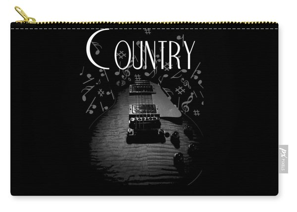 Country Music Guitar Music Carry-all Pouch