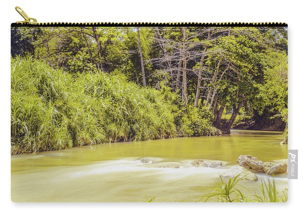 Country River In Trelawny Jamaica Carry-all Pouch