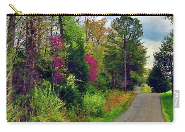 Country Road Take Me Home Carry-all Pouch