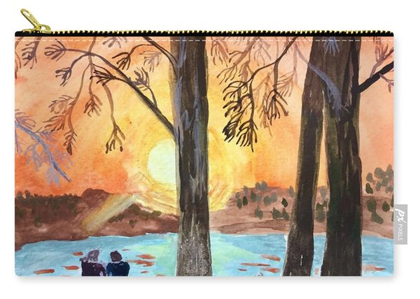 Couple Under Tree Carry-all Pouch