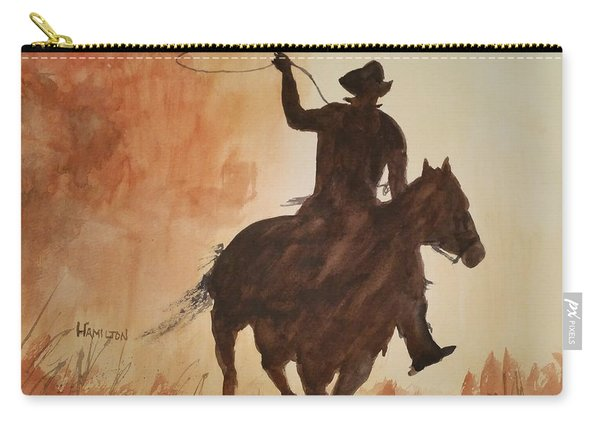 Cowboy Hero Carry-all Pouch