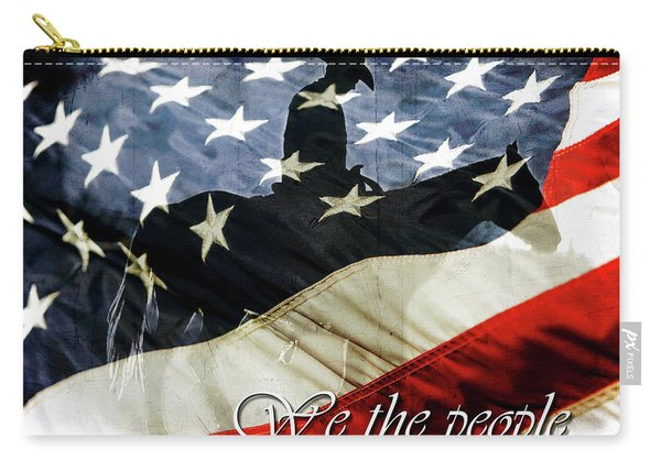 Cowboy Patriot Carry-all Pouch