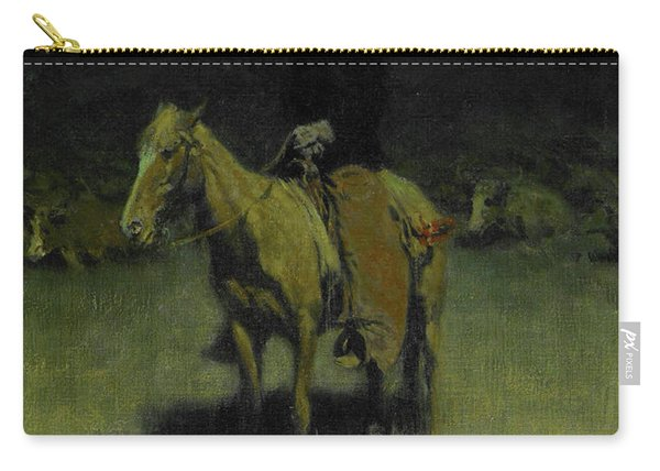 Cowpuncher's Lullaby, 1906 Carry-all Pouch