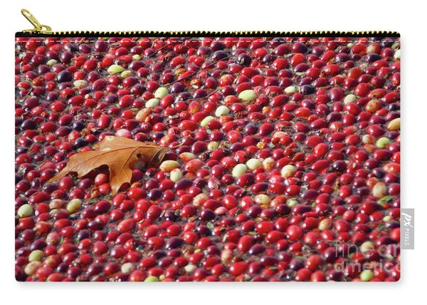 Cranberry Season Carry-all Pouch