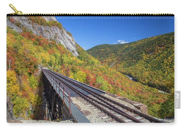 Crawford Notch Autumn Trestle Carry-all Pouch