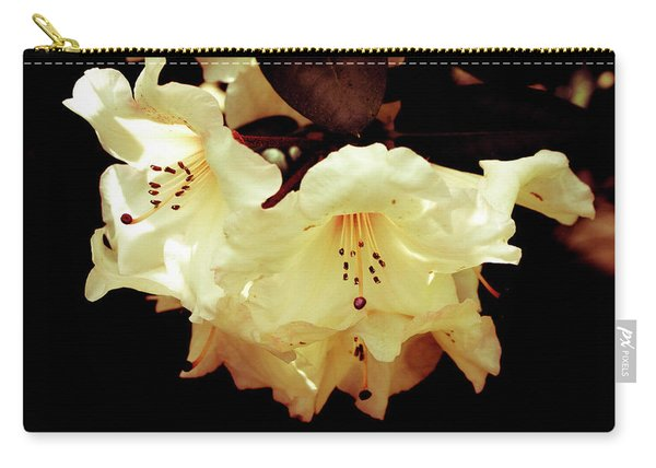 Creamy Rhododendron Carry-all Pouch