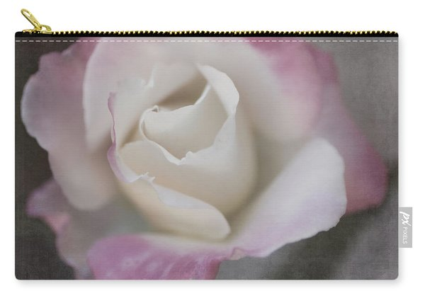 Creamy White Center By Tl Wilson Photography Carry-all Pouch