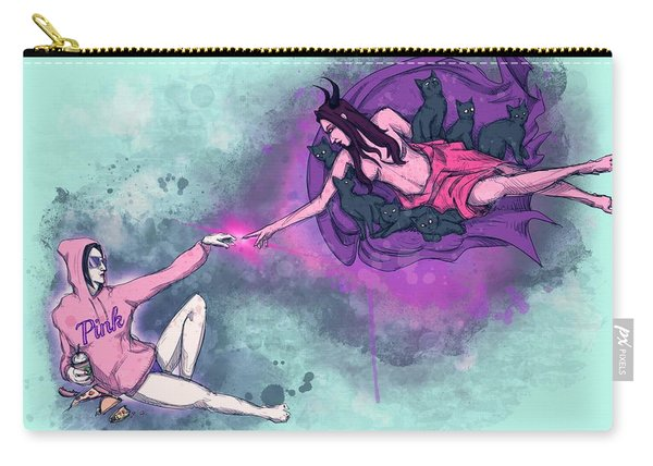 Creation Of Woman Carry-all Pouch